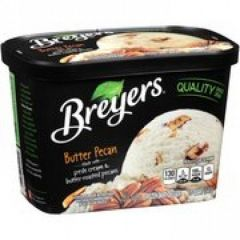 Breyers Butter Pecan Frozen Dairy Dessert Ice Cream