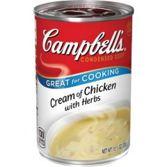 Campbells Cream of Chicken with Herbs Soup