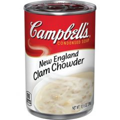 Campbells New England Clam Chowder Soup