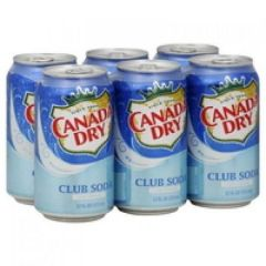 Club Soda 6 Pack Soda