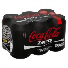 Coca-Cola Zero 6 Pack Soda