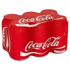 Coke Can 6 Pack Soda