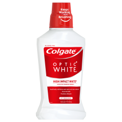 Colgate Whitening Mouthwash 3.3 Oz