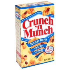 Crunch N Munch Popcorn With Peanuts, Buttery Toffee