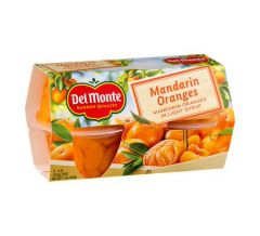 Del Monte Mandarin Orange In Light Syrup 4Pk