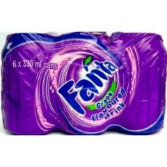 Fanta Grape 6 Pack Soda