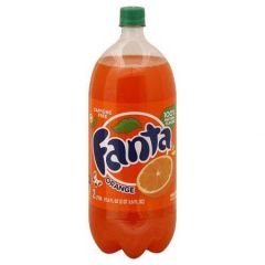 Fanta Orange Soda 2 Liters