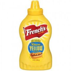 Frenchs Classic Yellow Squeeze Bottle Mustard 14 Oz