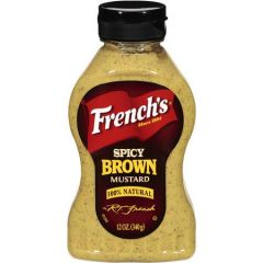 Frenchs Bold N Spicy Brown Mustard