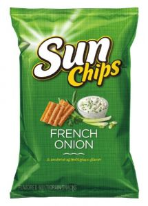 Frito lays Sun French onion chips