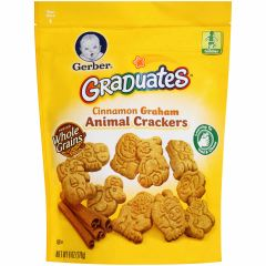 Gerber Graduates Cinnamon Graham Animal Crackers