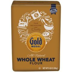 Gold Medal All Natural Stone Ground Whole Wheat Flour