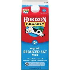 2% Organic Reduced Fat Milk