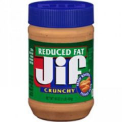 Jif Reduced Fat Crunchy Peanut Butter