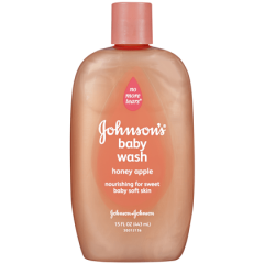 Johnson baby Wash with Honey Apple