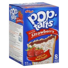 Kellogg'S Frosted Strawberry Pop Tarts, 8 Ct