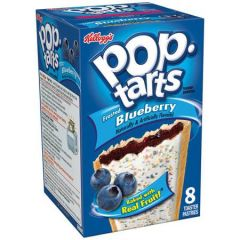 Kellogg'S Pop Tarts Frosted Blueberry Toaster Pastries