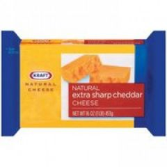 Kraft Cheddar Extra Sharp Block 16 oz