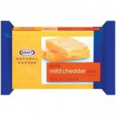 Kraft Cheese Cheddar Medium Block 16 oz