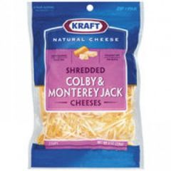Kraft Natural Cheese Shredded Colby & Monterey Jack Cheeses