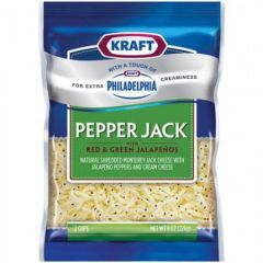 Kraft Natural Cheese Shredded Pepper Jack