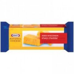 Kraft Natural Sharp Cheese Chunk