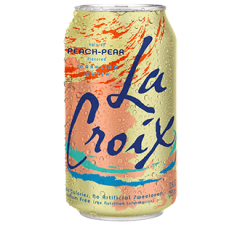 12 pack - Lacroix Sparkling Peach Pear Can