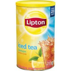 Lipton Lemon Sugar Sweetened Iced Tea Mix