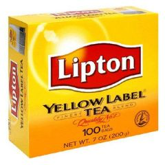 Lipton Yellow Label Tea Bags 100 Count