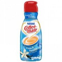French Vanilla Coffee Creamer Liquid 32 oz