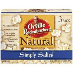 Simply Salted Microwave Popcorn