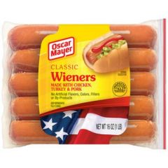 Classic Wieners 10 Count 16 Oz