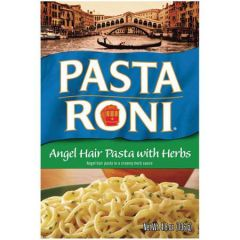 Pasta Roni Angel Hair Pasta With Herbs Pasta