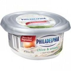 Philadelphia Chive & Onion Cream Cheese Spread