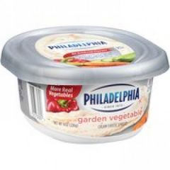 Philadelphia Garden Vegetable Cream Cheese Spread