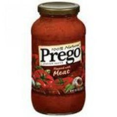 Prego Meat Flavored Italian Sauce