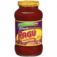 Ragu Robusto Roasted Garlic Pasta Sauce
