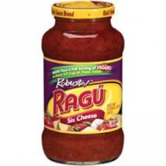 Ragu Robusto Six Cheese Pasta Sauce
