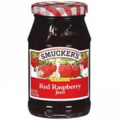 Smuckers Seedless Red Raspberry Preserves