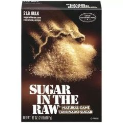 Sugar In The Raw Bulk Turbinado Sugar 2 Lb