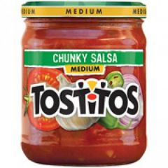 Tostitos Medium Chunky Salsa, 15.5 Oz