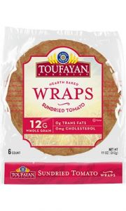 Toufayan Sun Dried Tomato Bread Wraps