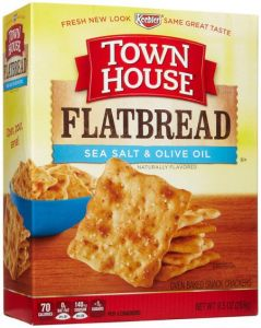 Town House Flatbread Crisps Sea Salt & Olive Oil