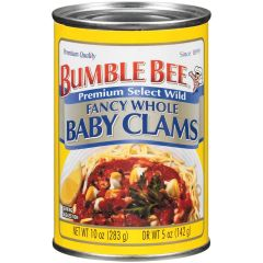 Whole Baby Clams